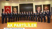 AK Partililer Salonlardan Çıkamadı