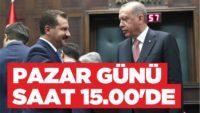 CUMHURBAŞKANI ERDOĞAN PAZAR GÜNÜ BALIKESİR'DE