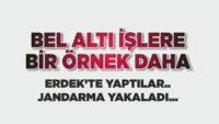 BEL ALTI İŞLERE ERDEK'TEN BİR ÖRNEK