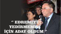 """Başkan Saka: """"Edremit'i yemek için aday oldular"""""""