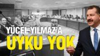 YÜCEL YILMAZ'A UYKU YOK