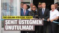 ŞEHİT ÜSTEĞMEN'İN ADI KODLAMA ATÖLYESİNE VERİLDİ
