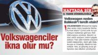 Volkswagen'e verecek arazi var mı?