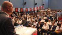 CHP'NİN İL DANIŞMA KURULU TOPLANTISINA COŞKULU KATILIM