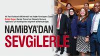 MİLLETVEKİLİ BELGİN UYGUR NAMİBYA'DA