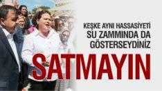 CHP'LİLER LUNAPARK ARSASININ SATIŞINA KARŞI ÇIKTI