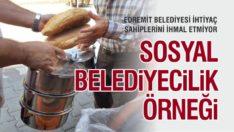 EDREMİT'TE SOSYAL BELEDİYECİLİK ÖRNEĞİ