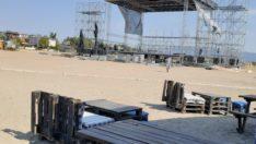 ROCK FESTİVALİ BİTTİ, SAHİL TEMİZLENDİ