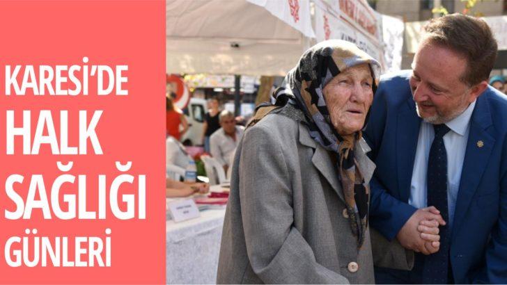 KARESİ'DE HALK SAĞLIĞI GÜNLERİ