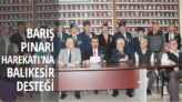 BARIŞ PINARI HAREKATI'NA BALIKESİR DESTEĞİ