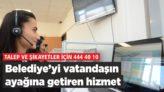 BELEDİYE'Yİ VATANDAŞIN AYAĞINA GETİREN HİZMET