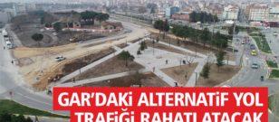 ALTERNATİF YOL TRAFİĞİ RAHATLATACAK