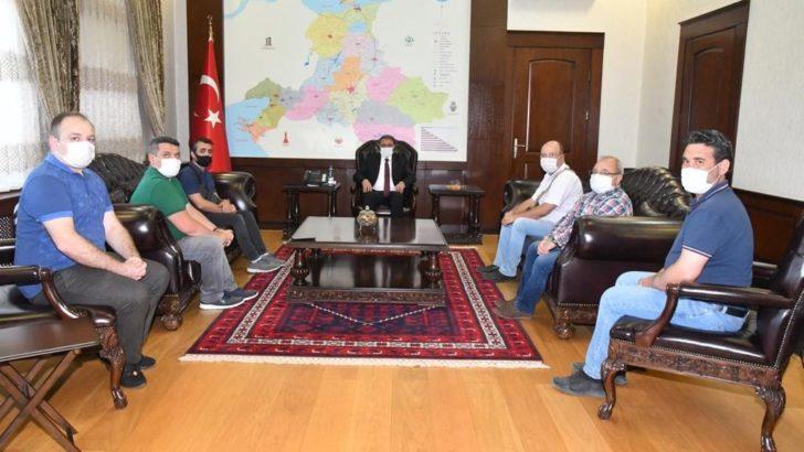 İHLAS HABER AJANSI'NDAN VALİ ŞILDAK'A HAYIRI OLSUN ZİYARETİ