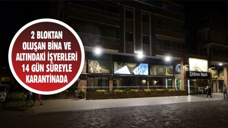 EDREMİT'TE KORONAVİRÜS KARANTİNASI
