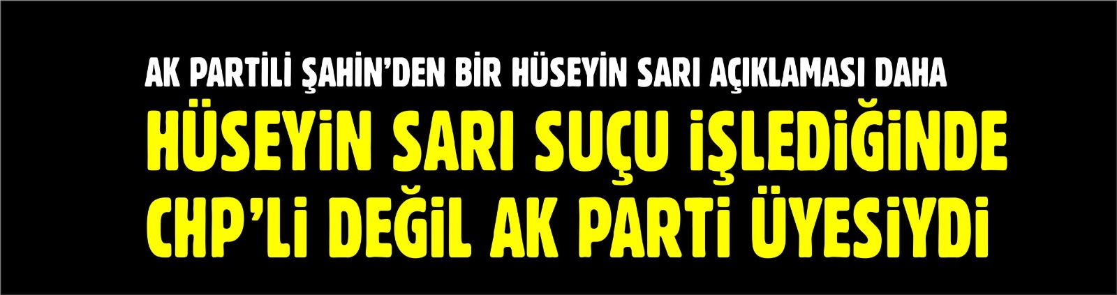 """İHALEYE FESAT SUÇU İŞLENDİĞİNDE AK PARTİ ÜYESİYDİ"""