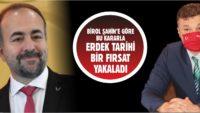BİROL ŞAHİN'E GÖRE HÜSEYİN SARI ARTIK 'SİYASİ MEFTA'