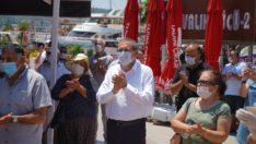"""MESUT ERGİN'DEN """"SAVUNMA SAVUNMASIZ DEĞİLDİR"""" EYLEMİNE DESTEK"""